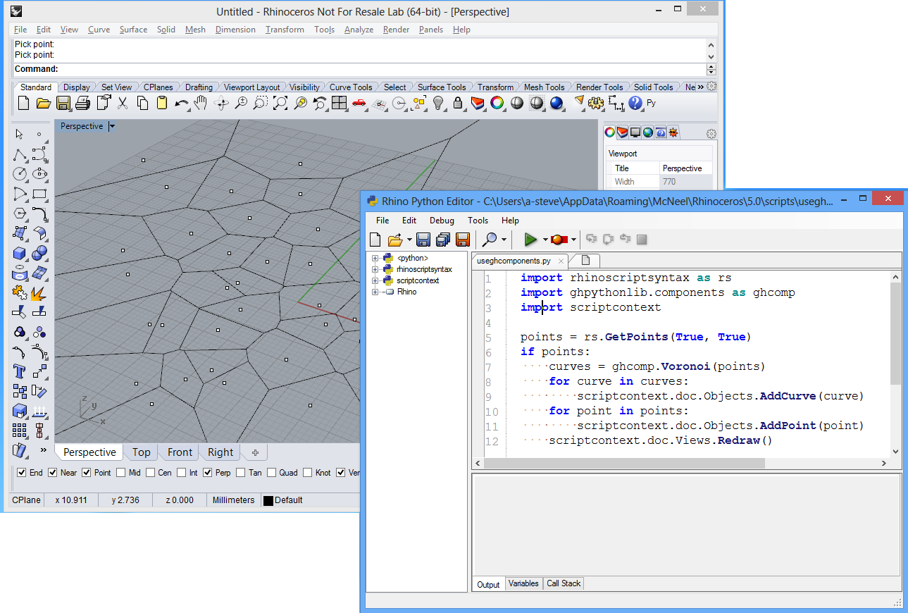 Steve Baer's Notes | Rhino3D, Programming, RhinoCommon, C#